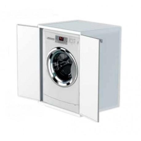 Mobile protezione lavatrice coprilavatrice in resina 66X68X88 cm