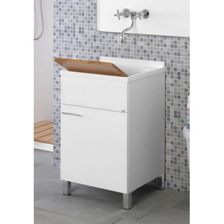 Lavatoio con mobiletto 45x50 cm lavabo - Feridras - Brico Casa