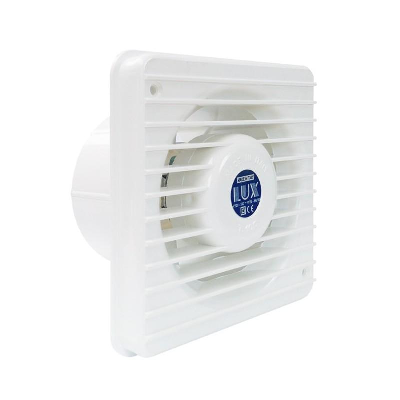 Aspiratore elettrico a soffitto parete cucina e bagni serie t lux brico casa - Aspiratore bagno prezzi ...