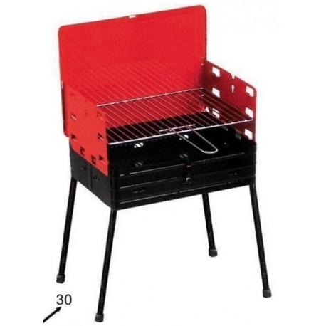 Barbecue Portatile Pieghevole.Barbecue Portatile Richiudibile Pieghevole A Valigetta Balconi Terrazzini Brico Casa