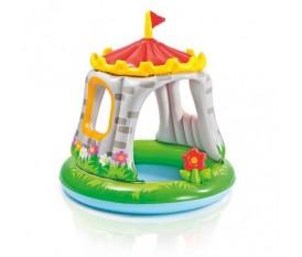 Intex Baby Castello - piscina per bambini a forma di castello - 57122 - 122x122 CM