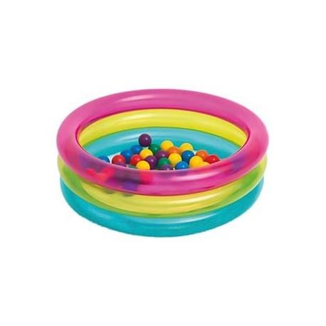 Piscina per bambini gonfiabile con palline colorata ad for Amazon piscina con palline