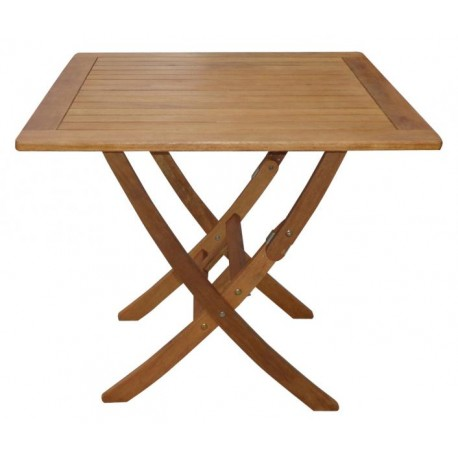 Tavolo Di Legno Pieghevole.Tavolo In Legno 80x80 Pieghevole Quadrato Brico Casa