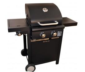 Ke Grill Basic - Barbecue a pietra lavica con fuoco laterale a scomparsa