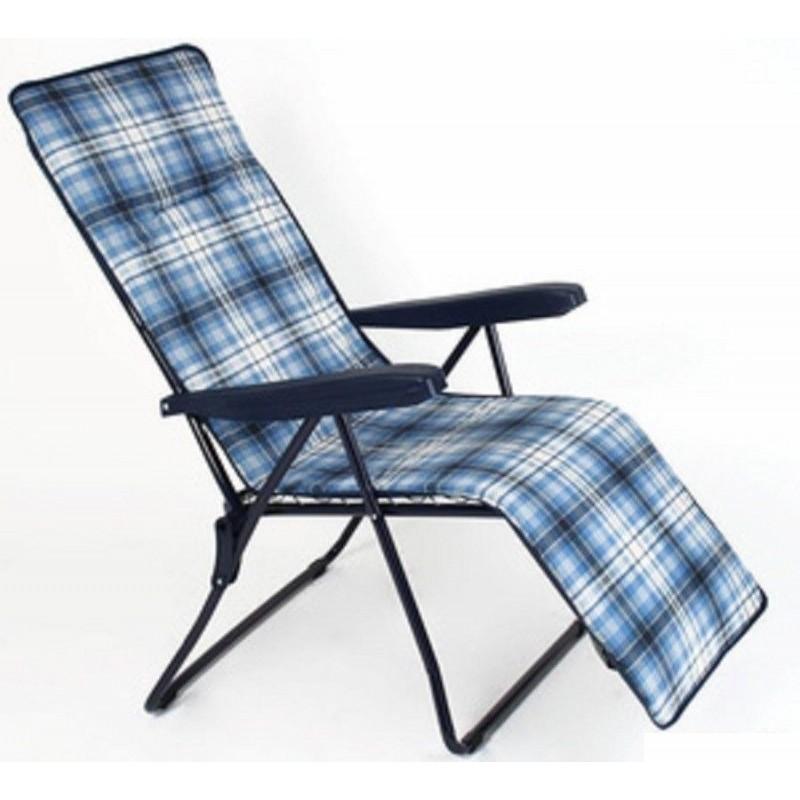 Sedia sdraio con poggiapiedi in acciaio mare piscina giardino brico casa - Poggiapiedi piscina ...