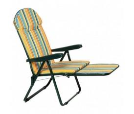 Poltrona mare con parasole brandina piscina mela verde reclinabile in acciaio brico casa - Poggiapiedi piscina ...
