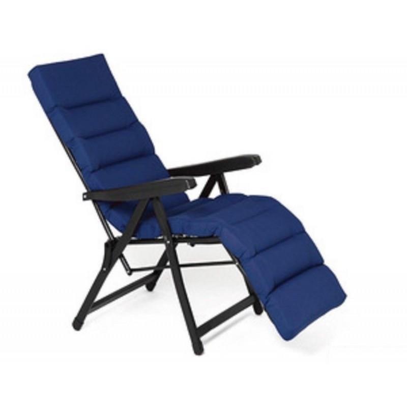 Sedie Sdraio Alluminio Con Poggiapiedi.Sedia Sdraio Con Poggiapiedi In Acciaio Mare Piscina Giardino