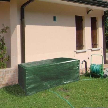 Telo di copertura per tavoli da esterno da giardino in poliestere 150x100x70h cm brico casa - Tavoli da balcone brico ...