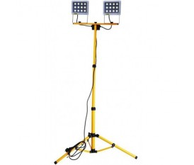 VIGOR DOUBLE - PROIETTORE A LED DOPPIO FARO TREPPIEDE 24 WATT