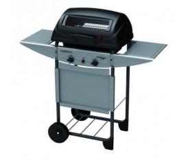Campingaz Expert 2 Plus - Barbecue a pietra lavica in acciaio a gas