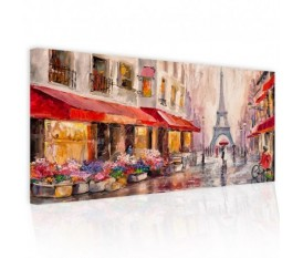 PLUIE A PARIS - QUADRO DIPINTO ASTRATTO PICTURES