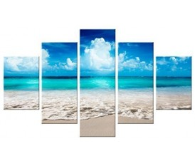 SEA SUMMER - VOGUE QUADRO MODERNO 5 PEZZI