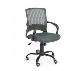 Bessie - sedia per scrivania con seduta morbida e schienale a rete